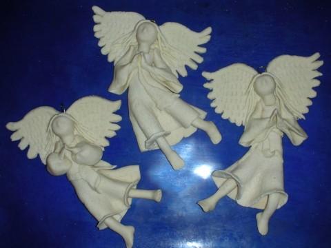 Ангел из пластилина своими руками